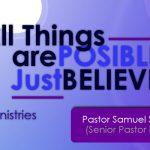 Senior Pastor Samuel Sarpong